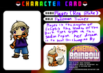 Player PokemonRainbow Card by CleverConflict