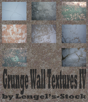 Grunge Wall Texture Pack IV by Lengels-Stock