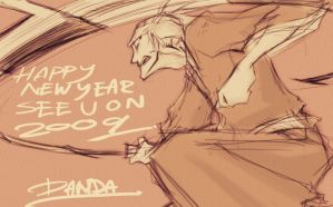 bleach - last pic for 2008 by pandabaka