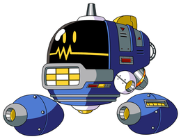 Mega Man TT's Orbital Bee by JusteDesserts