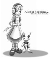 Alice in Roboland for Sean by rinacat
