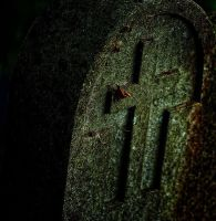 old cross by awjay