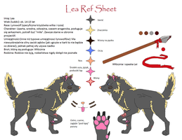 Lea Reference Sheet by HermiTheHusky
