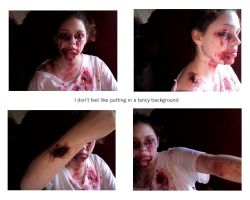 Zombie montage by Emjean
