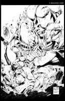 HULK 602 CHAOS WAR COVER by knockmesilly