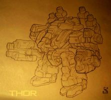 Terran Unit: THOR by Tokoldi