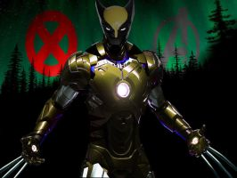Iron Wolverine by IGMAN51