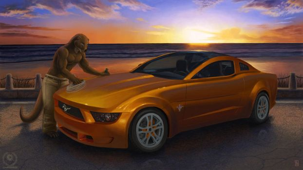 Lunden's Mustang by KaceyM