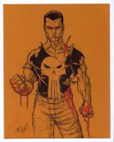 Punisher sketch by mdavidct