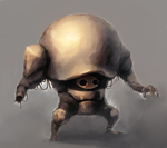 bronce shell golem by moxomo