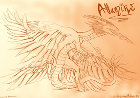 Allamire .:SketchTrade:. by GlowyNeliana332