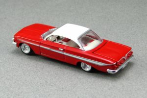 1961 Chevrolet Impala - red tr cotd - Revell by Deanomite17703cotd