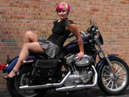 Motorcycle9 by tattooedgypsystock