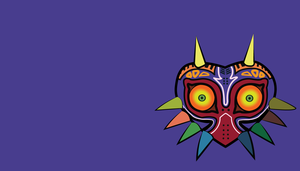 Majora's Mask Wallpaper Hard Line by Oldhat104