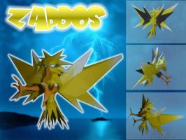 zapdos papercraft by rafex17