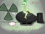 Miss Uranium by Shawnlabomb