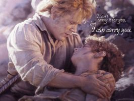 """""""My place is by Mr. Frodo"""" by Leyne"""