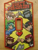 Scott Pilgrim Light Switch by Kittykawaiix3