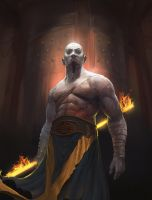 Fire monk by Asahisuperdry