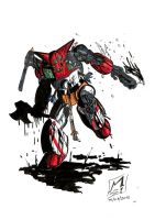 The death of Getter robot by KillRex