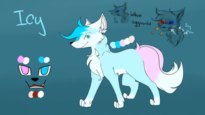 Icy Reference Sheet by chiatten