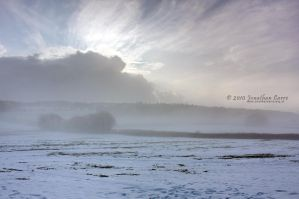 Snow at Brent Tor 3 by InsaneGelfling