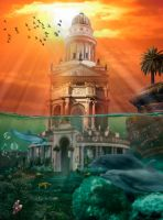 Fantasy Palace by MatthewMartinKing