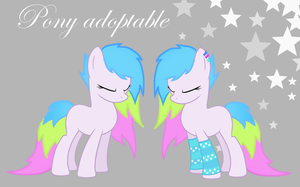ADOPTABLE PONY closed by WhateverQueen