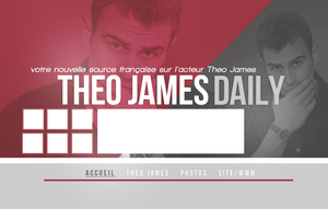 Layout - Theo James Daily by Elsafarore