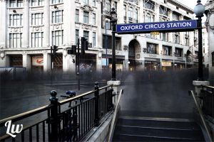 Oxford Circus by LukeWhite