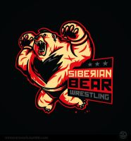 Siberian Bear Wrestling by Winter-artwork