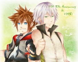 KH: Happy Birthday by yoruven
