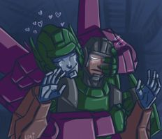 TF MTMTE: EMERGENCY CUDDLE by Succubii