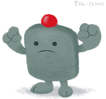 Daily Drawing 012 - Clayman by tjg-12345