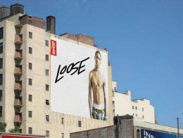 Levis Ad: Loose Billboard by drg