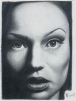 Samantha Mathis by wolfwoman