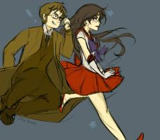 Request: 10th Doctor and Sailor Mars by hamburgerpiez523