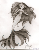 Mermaid by Karoiii
