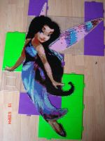 disney fairies perler hama by Silvermist5