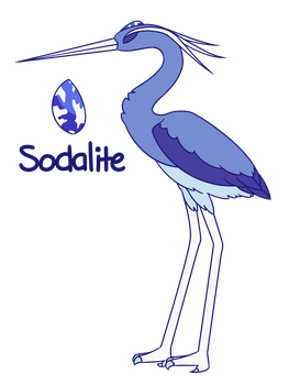 Sodalite by TheSketchling