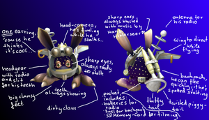 SpaceBunny Ref-Sheet ..kind of by LuciaSeriin