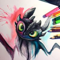 Toothless by Lucky978