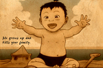 Baby ozai by bunnybender