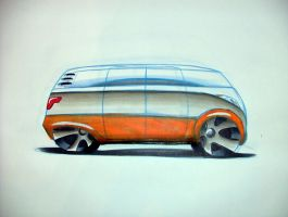 VW Microbus Concept by gofasterpinch