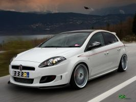 Street Racer Fiat Bravo by Mr-Ramon