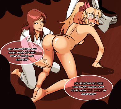 Martial Arts Noclothes by 1PinkandPeachy1