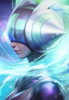Kinetic energy by Artgerm
