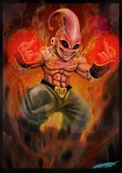 Kid Buu by grifth