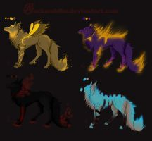 Auction 2 closed (will be open in others entries) by wolfyLRiina