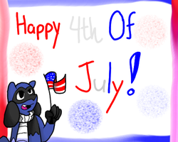 Happy July 4th! by DisasterTheAbsol